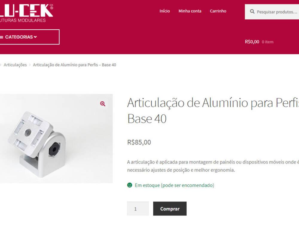 ALU-CEK atualiza loja virtual – Em breve uma loja mais moderna para você!